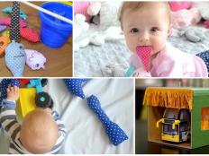Čím zabaviť malé deti? Desať postupov na vlastnoručne vyrobené hračky pre najmenších. - foto postup