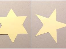 Video: Ako nakresliť päťcípu a šesťcípu hviezdu - foto postup