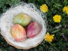 Mramorované veľkonočné vajíčka - fotopostup - foto postup
