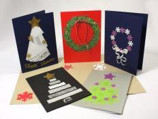 Fotopostup a inšpirácie na vianočné pohľadnice - foto postup