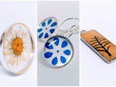 Živicové šperky - ako na to - foto postup