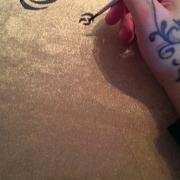 malovany textil (vankus)