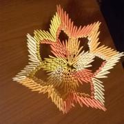 3d origami vázička :)