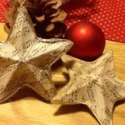 Papierová vianočná hviezda