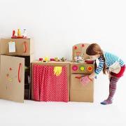 Papierové hračky - kuchynka
