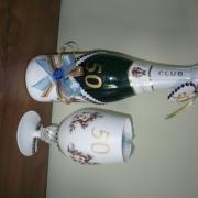 Fľaša a pohár na 50-tku