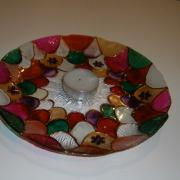 tanierik pod čajovú sviečku