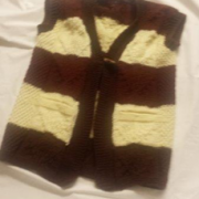 Navod -damska pletena vesta