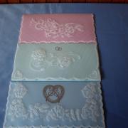 svadobné obálky z pergamana