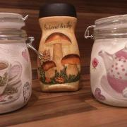 ... na sušené hríby a sladkosti :-)
