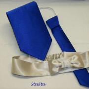 kravaty a čelenka