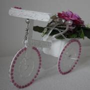 Malý bicykel z CD-čiek