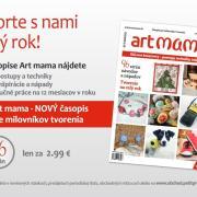 Prekvapenie pre všetky tvorivé duše - tlačený časopis Art mama