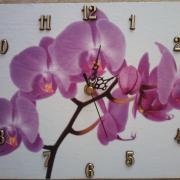 hodiny orchidea