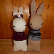 Zajace z ponožiek