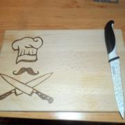 doska na krájanie kuchár