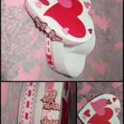 krabička na valentína