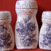 Modré ružičkové trio