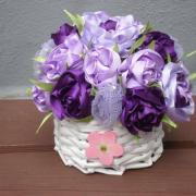 kvety v košíčku