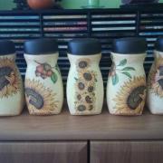 Tulipánové a slunečnicové pole a trocha máků