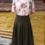 blúzka a sukňa