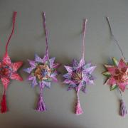 hviezdy z čajových sáčkov