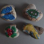maľujeme na kamienky