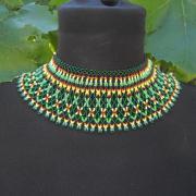 trošku iný šitý náhrdelník