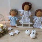 šitý vianočný anjelikovia