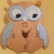 hodiny sova