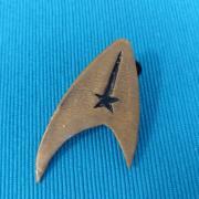 Star Trek odznak z fimo hmoty