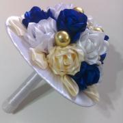 Saténová kytica Ruža 2