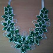 Saténový náhrdelník 3