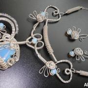 """Autorská sada šperkov """"Srdcová záležitosť"""""""