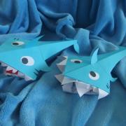 vyrábali sme žralokov