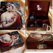 Romantická šperkovnica