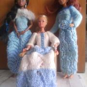 Pletenie pre barbie .