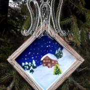 Strážca Vianoc... práca môjho 11 ročného syna Robka