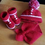 súprava na zimu pre vnučku