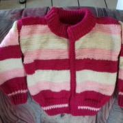 pletený svetrík