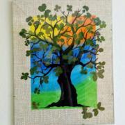 Strom z 50 pravých nefalšovaných čtyřlístků