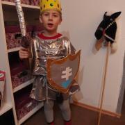 kráľ - rytier