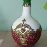 dekor fľaška