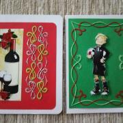 Pohľadnice, Scrapbook, Quilling