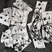 Skladané rúška pre hviezdy ;)