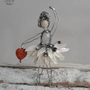 BALETKA - malá milá dekorácia - malý šperk do interiéru