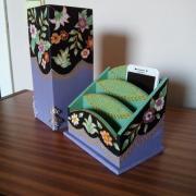 Váza a krabička na rôzne drobnosti