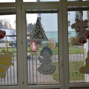 obojstranná výzdoba na okná MŠ