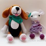 Háčkovaný pes a myš