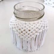 Opletený pohár - macrame